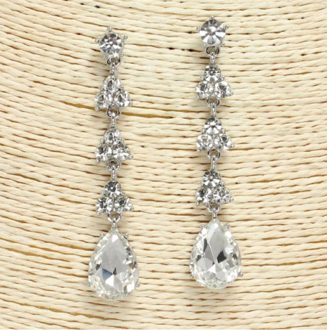 Special Occasion Rhinestone Earrings