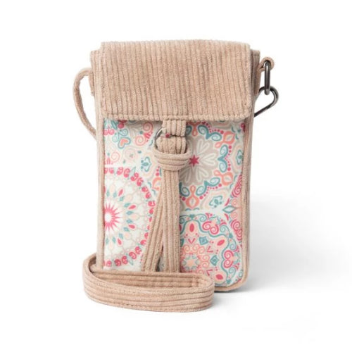Donna Sharp Libby Cell Phone Crossbody - Willow