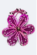 Bead & Sequins Flower Hair Tie