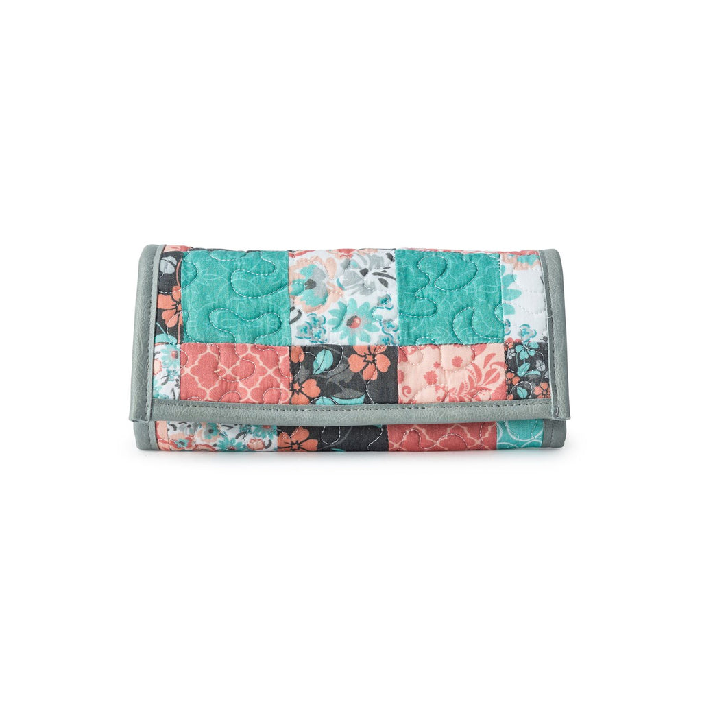Donna Sharp Margo Wallet - Melon Mint