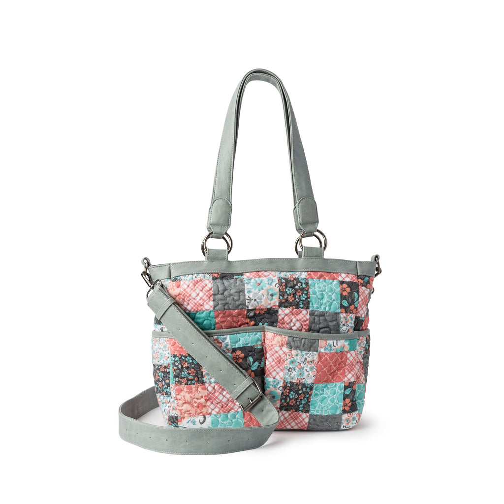 Donna Sharp Ellie Tote - Melon Mint