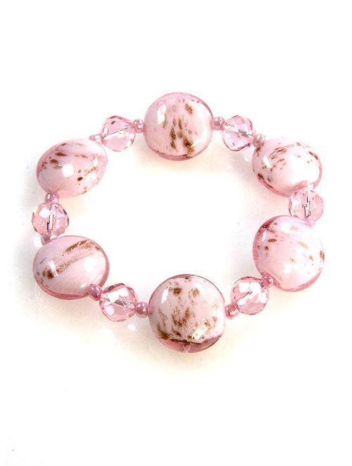 Stylish Pink Bracelet