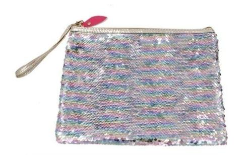 Sequin Cosmetic Bag Multi