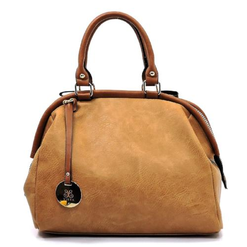 Fashionable Doctor's Satchel Camel