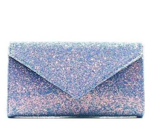 Glitter Evening Bag/Clutch Blue