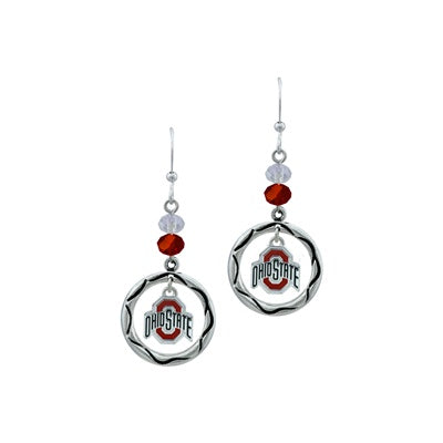 OSU Beaded Earrings