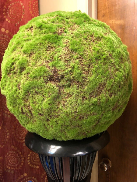 "20"" Decorative Faux Moss Ball"