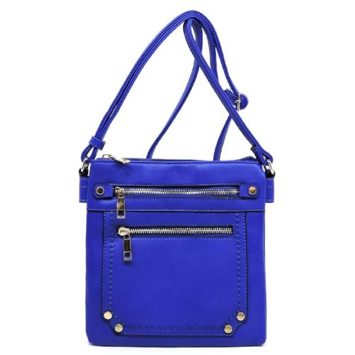 Multi Compartment Crossbody Bag Royal Blue