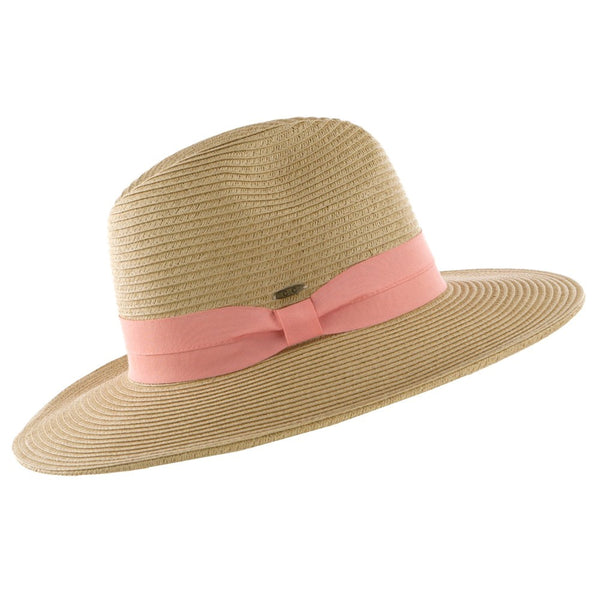 Stylish Brim Hat Coral