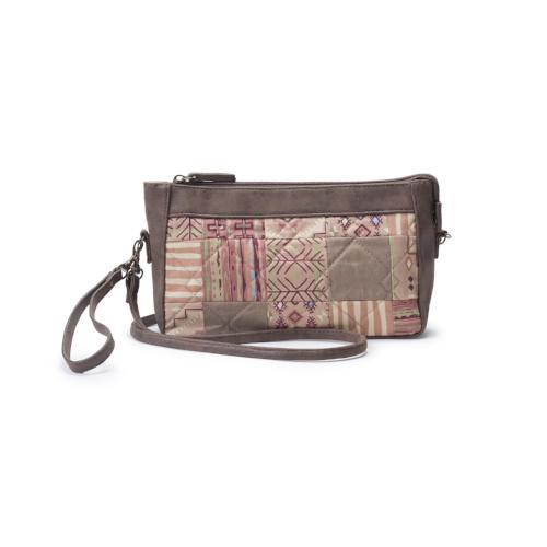 Donna Sharp Olivia Wristlet/Crossbody - Sandstone
