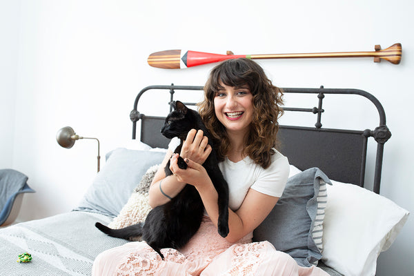 At Home With Alder New York CEO, Nina Zilka, & Her Cats Gene & George
