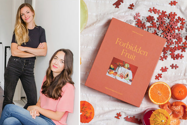 We Talk Puzzles with Rachel Hochhauser and Jena Wolfe, Founders of Piecework Puzzles
