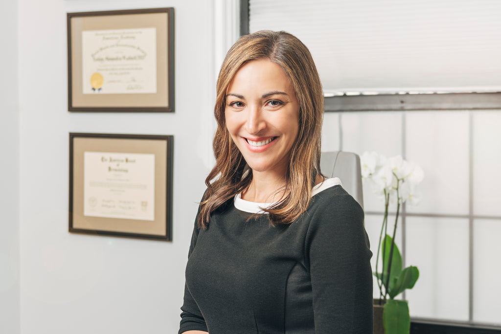 Dr. Morgan Rabach, board certified dermatologist and co-founder of LM Medical NYC