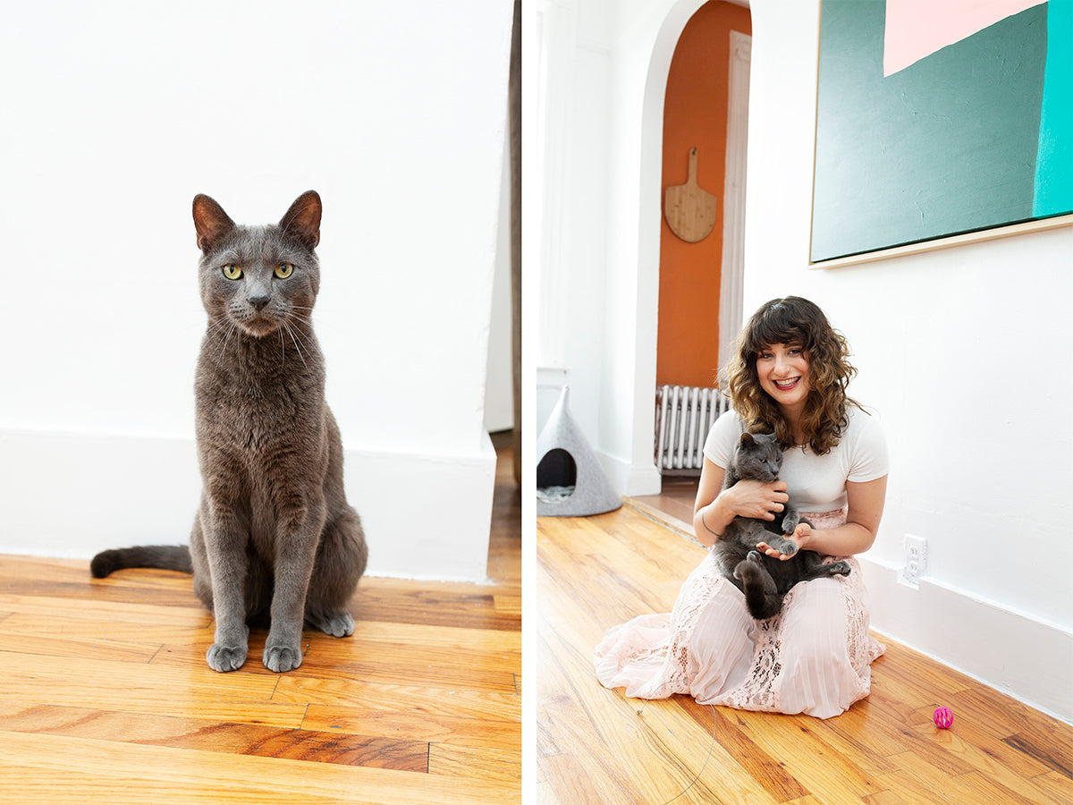 Alder New York CEO Nina Zilka and Her Cats
