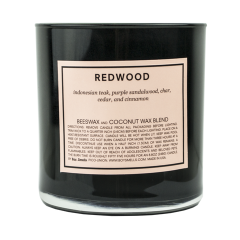 Redwood Scented Candle