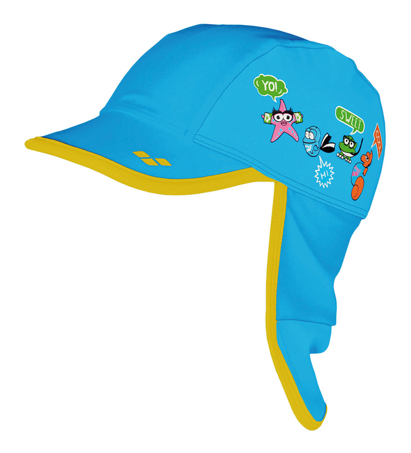 Arena Kids Swimming Cap Fluo