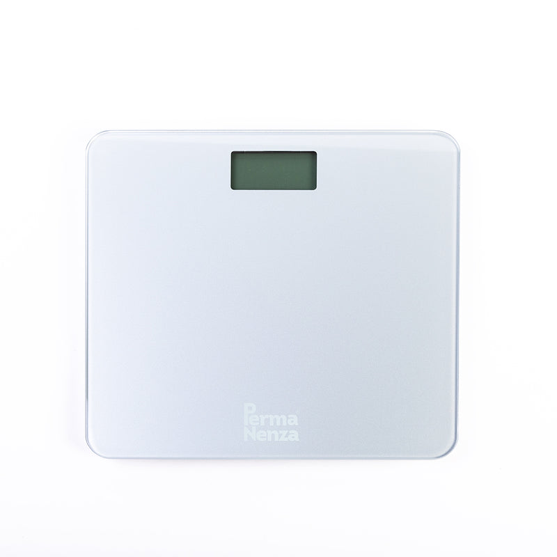 PERMANENZA DIGITAL GLASS WEIGHING SCALE (WHITE )