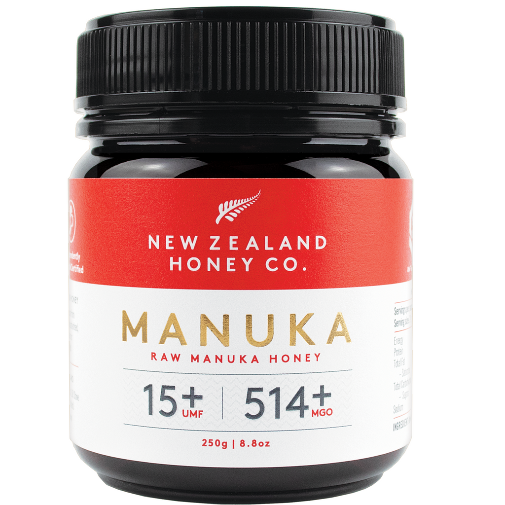 New Zealand Honey Co Raw Manuka Honey (UMF 15+ / MGO 525+) - 250g