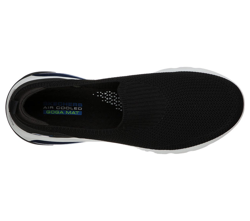 SKECHERS GO WALK AIR - BLACK BLACK