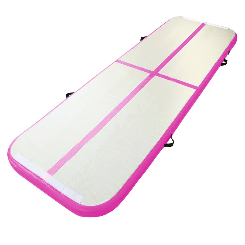 Air Track Inflatable Gymnastics Mat with Air Track Pump - Dawson Sports