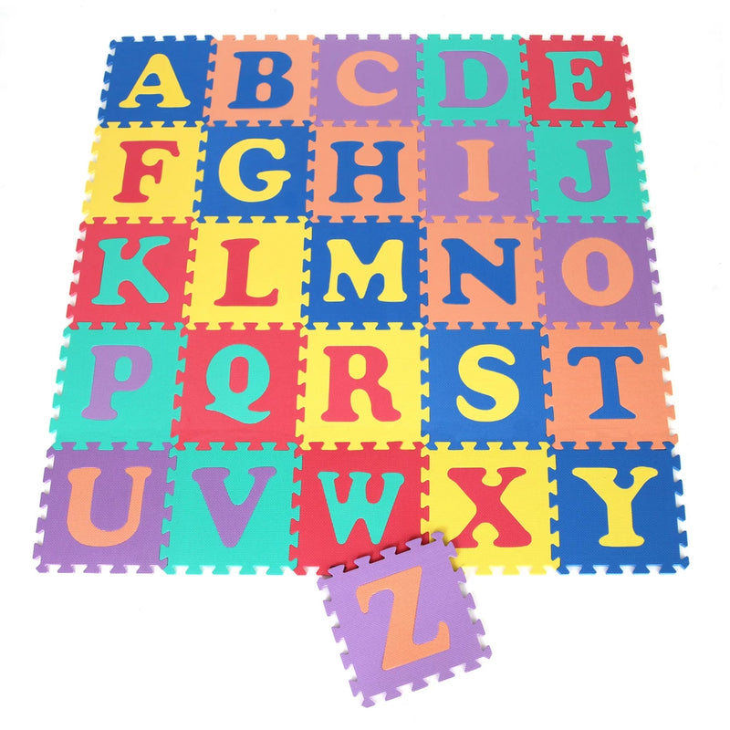 Alphabet Interlocking Mats