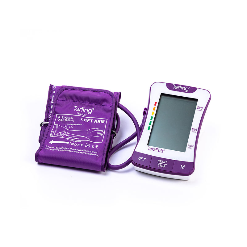 TERLING UPPER ARM BLOOD PRESSURE MONITOR
