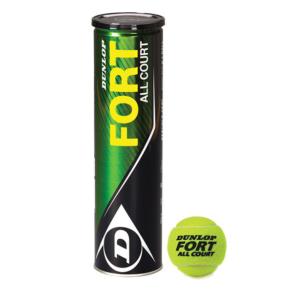 Dunlop Fort All Court Tennis Balls - Dawson Sports