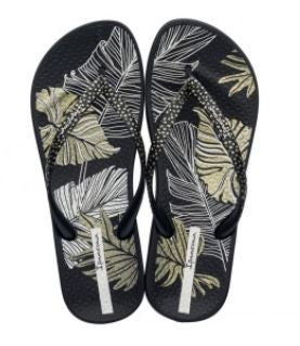 IPANEMA WOMEN'S ANAT. NATURE III - BLACK/WHITE