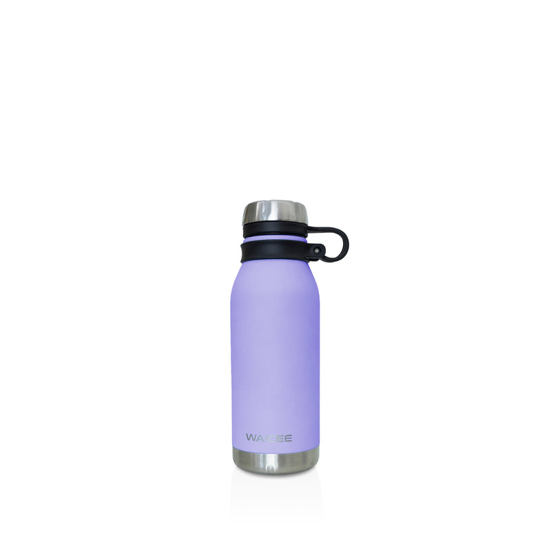 Waicee Water Bottle Stainless Steel Vacuum - Insulated - 500ml - Lilac