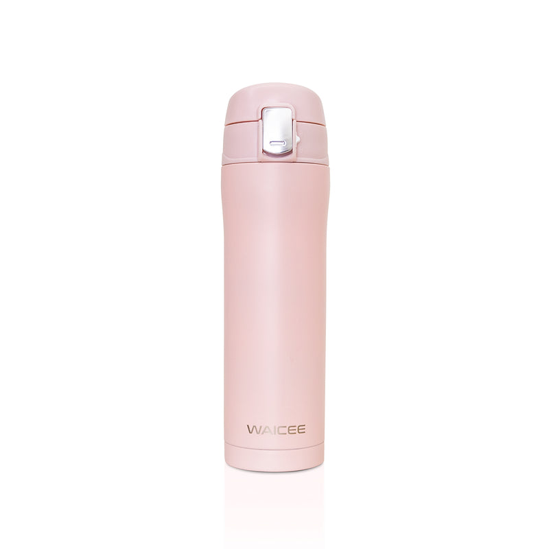 WAICEE Rose Water Bottle - Stainless Steel & Vacuum Insulated - 450ml