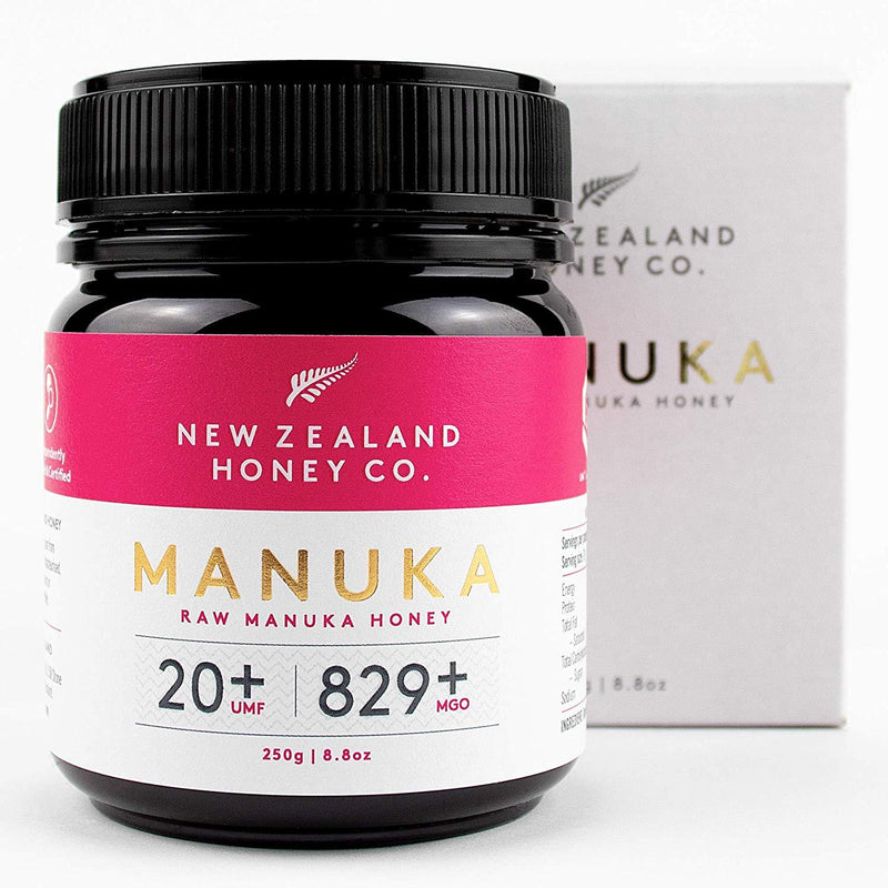 New Zealand Honey Co Raw Manuka Honey (UMF 20+ / MGO 850+) - 250g
