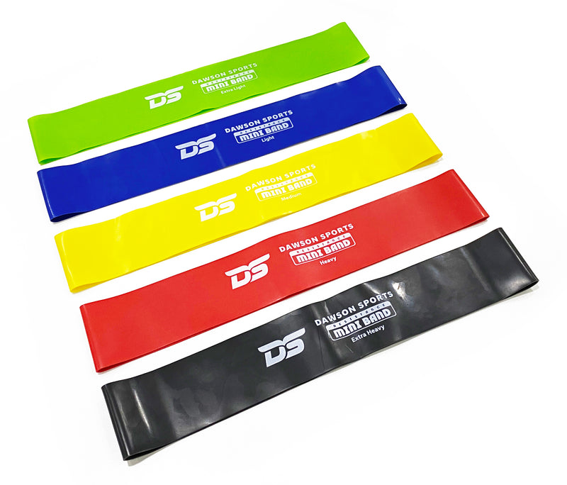 Resistance Mini Bands - Pack of 5