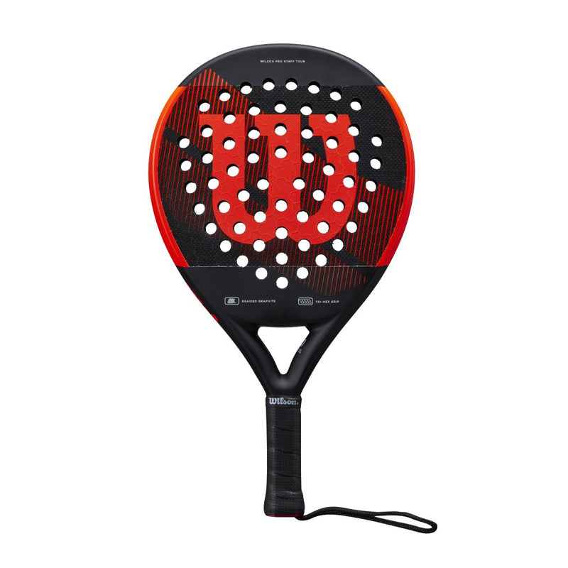 Wilson Pro Staff Tour Padel Black/Red
