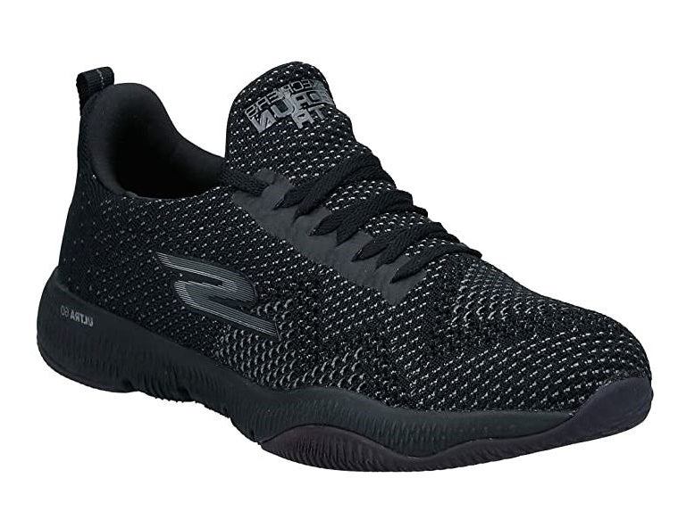 SKECHERS GO RUN TR - BLACK BLACK