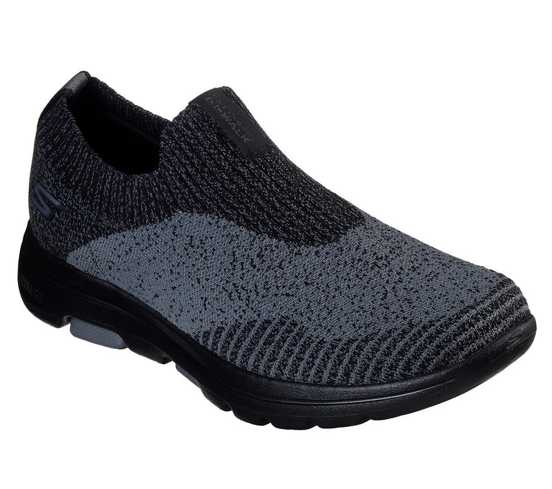 SKECHERS GO WALK 5 - BLACK CHARCOAL