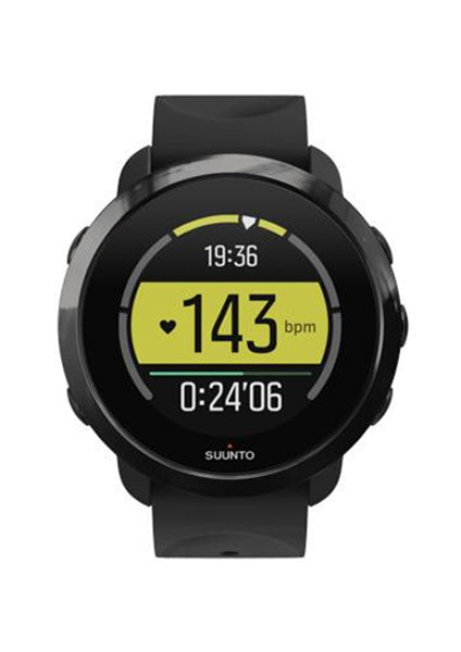 SUUNTO 3 FITNESS ALL BLACK - Dawson Sports