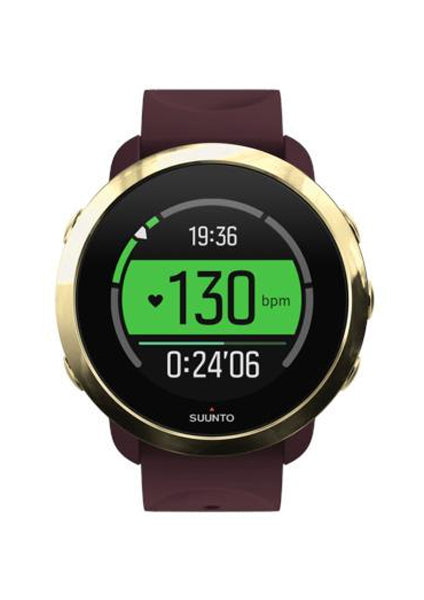 SUUNTO 3 FITNESS BURGUNDY - Dawson Sports