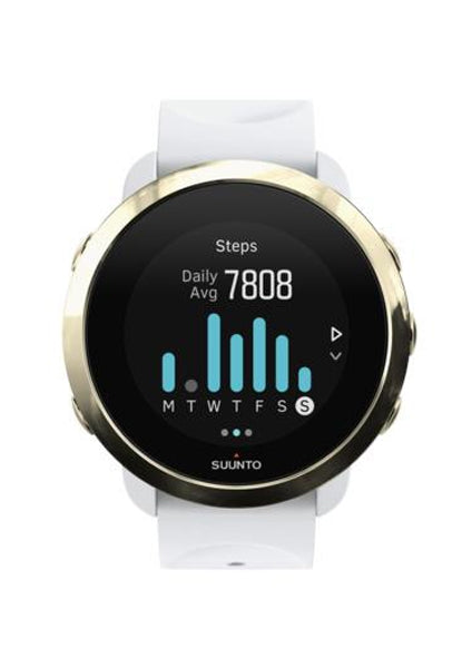 SUUNTO 3 FITNESS GOLD WHITE - Dawson Sports