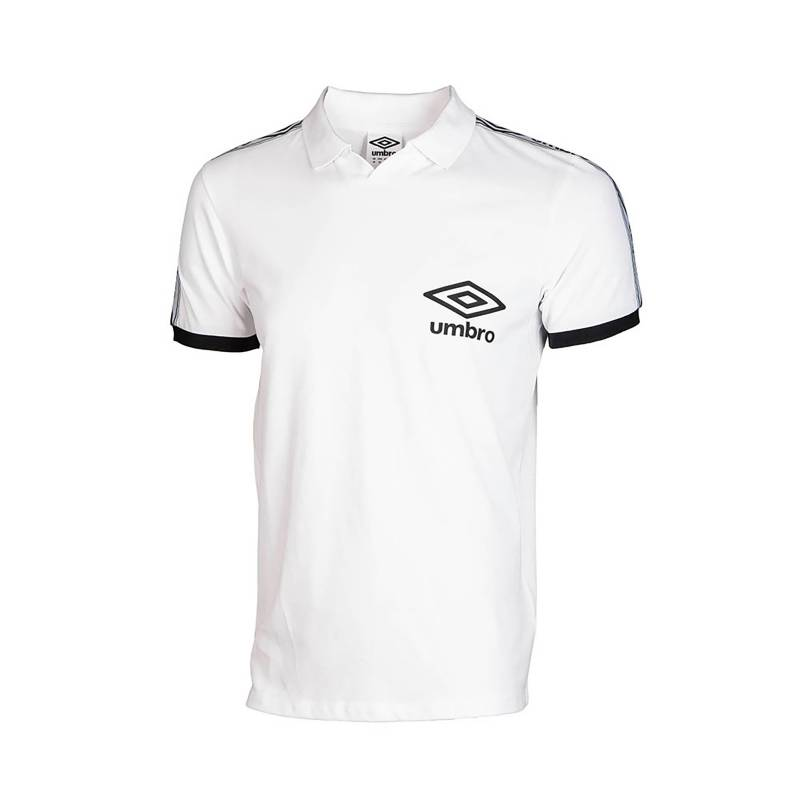 TAPED HIGH V POLO BRILLIANT WHITE - XXL