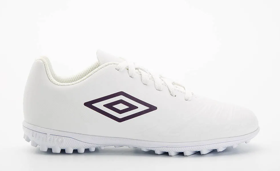 UMBRO UX ACCURO III LEAGUE TF WHITE / PLUM