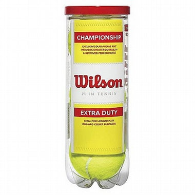 Wilson Championship Tennis Balls, Pack of 3