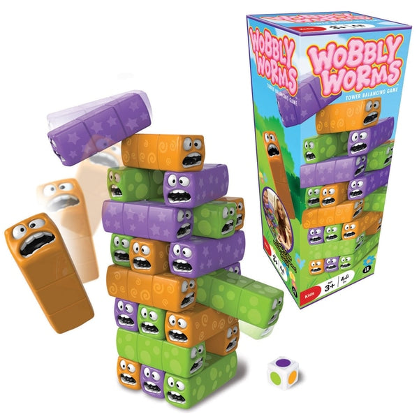 Wobly Worms - Tower Balancing