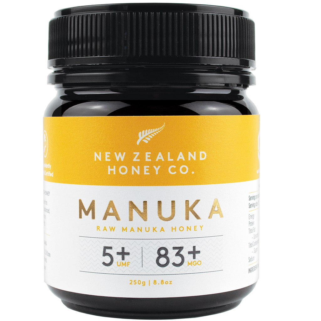 New Zealand Honey Co Raw Manuka Honey (UMF 5+ / MGO 83+) - 250g