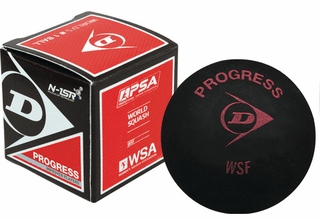 Dunlop Progress Squash Ball - Red