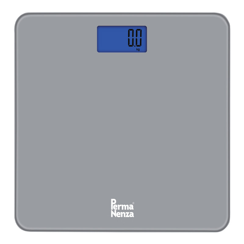 PERMANENZA DIGITAL GLASS WEIGHING SCALE (GREY)