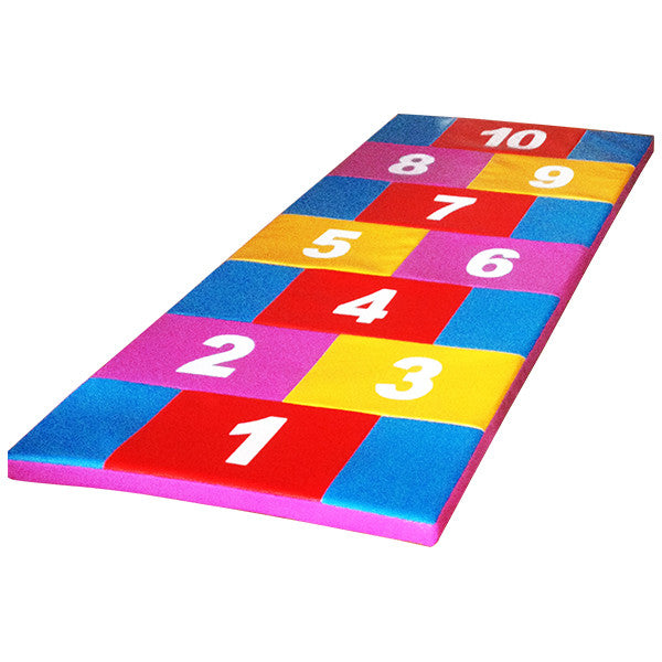 Numbered Flat Mat
