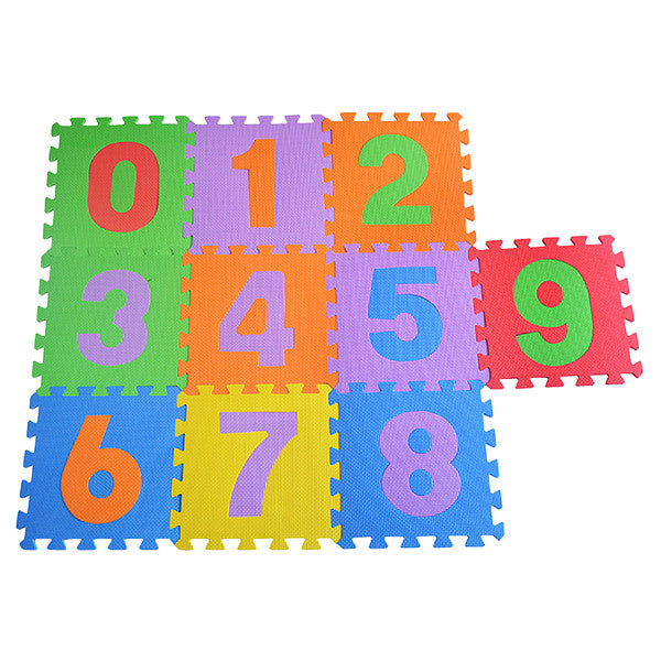 Numbered Interlocking Mats
