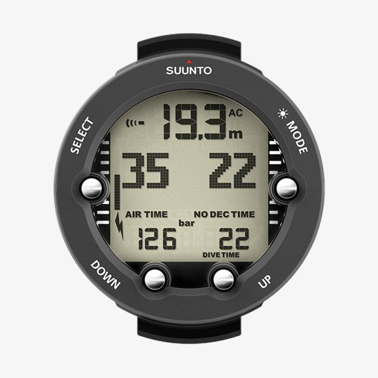 SUUNTO VYPER NOVO Graphite with Boot and USB