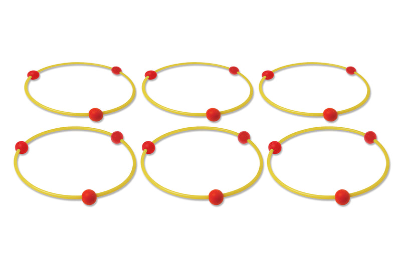 Step Training / Reaction Hoops (set of 6) - Dawson Sports