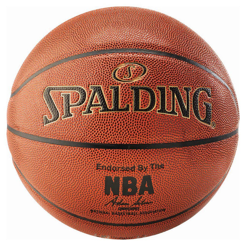 Spalding NBA Gold Series Indoor/Outdoor Ball - Size 7